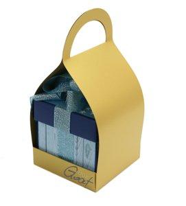 Trzymak nosidełko na exploding box - złoty perłowy